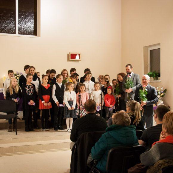 Koncert v evanjelickom kostole sv. Trojice 2015