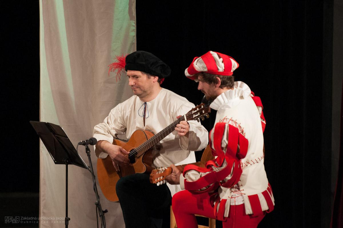Historický koncert Odkaz renesancie, ZUŠ Dubnica nad V8hom 2016