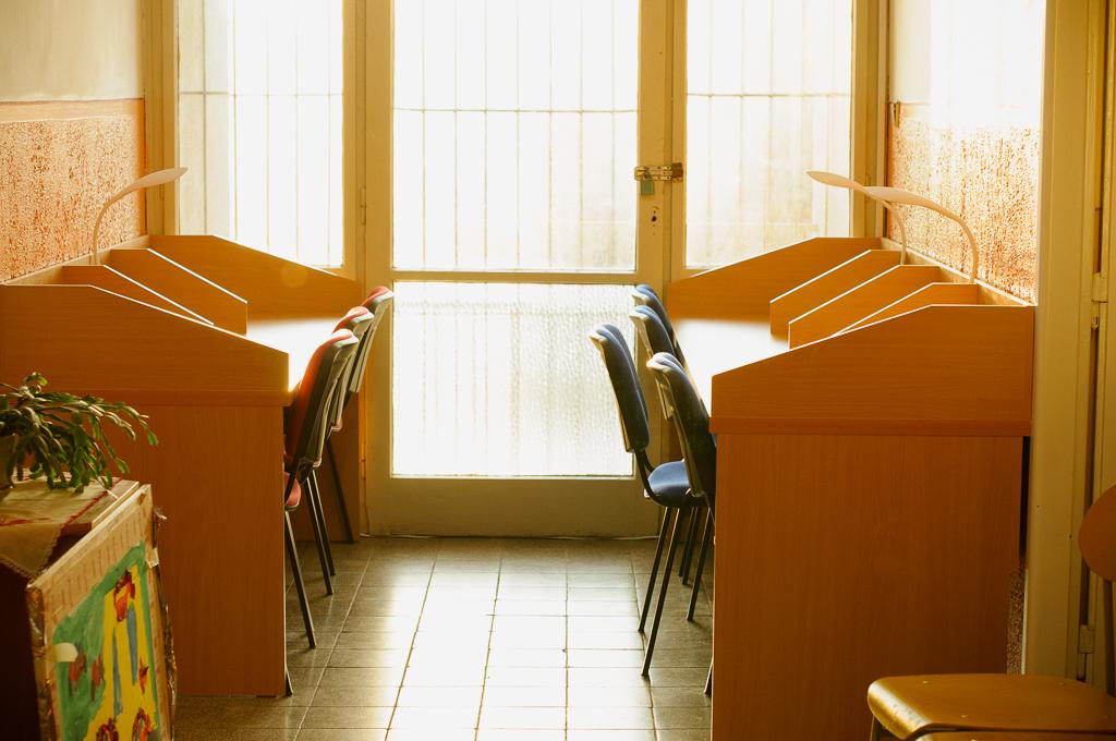 ZUŠ Dubnica nad Váhom, študovňa na poschodí
