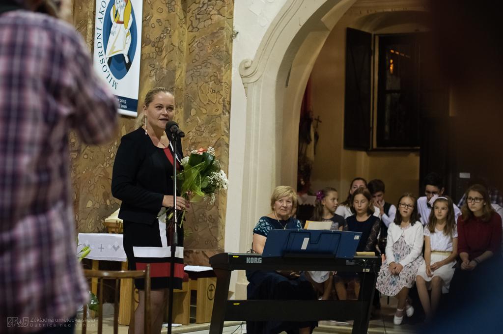 Predvianočný koncert v Kostole sv. Jakuba DUbnica nad Váhom, ZUŠ DUbnica nad Váhom
