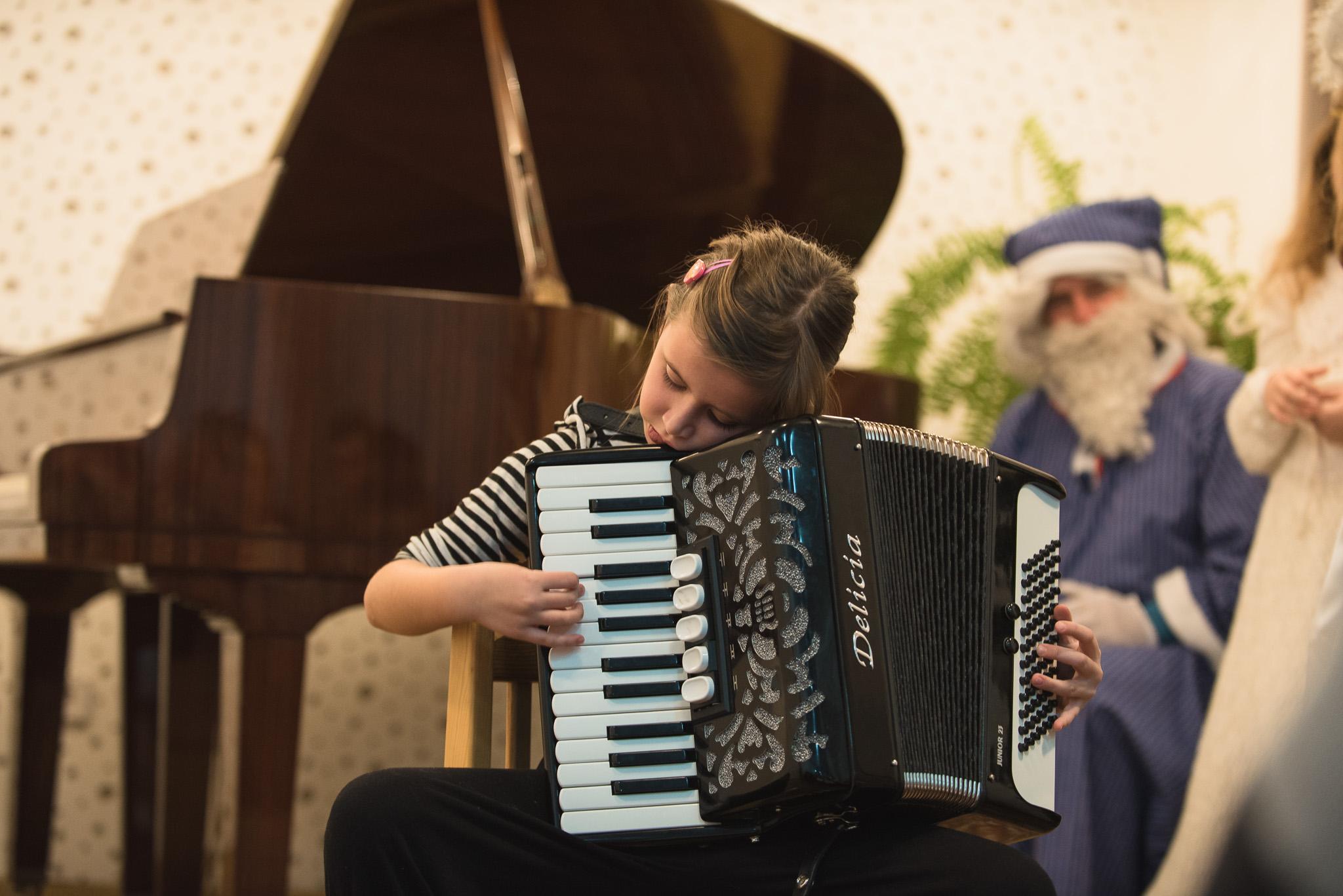 Verejný žiacky koncert, december 2017, ZUŠ Dubnica nad Váhom