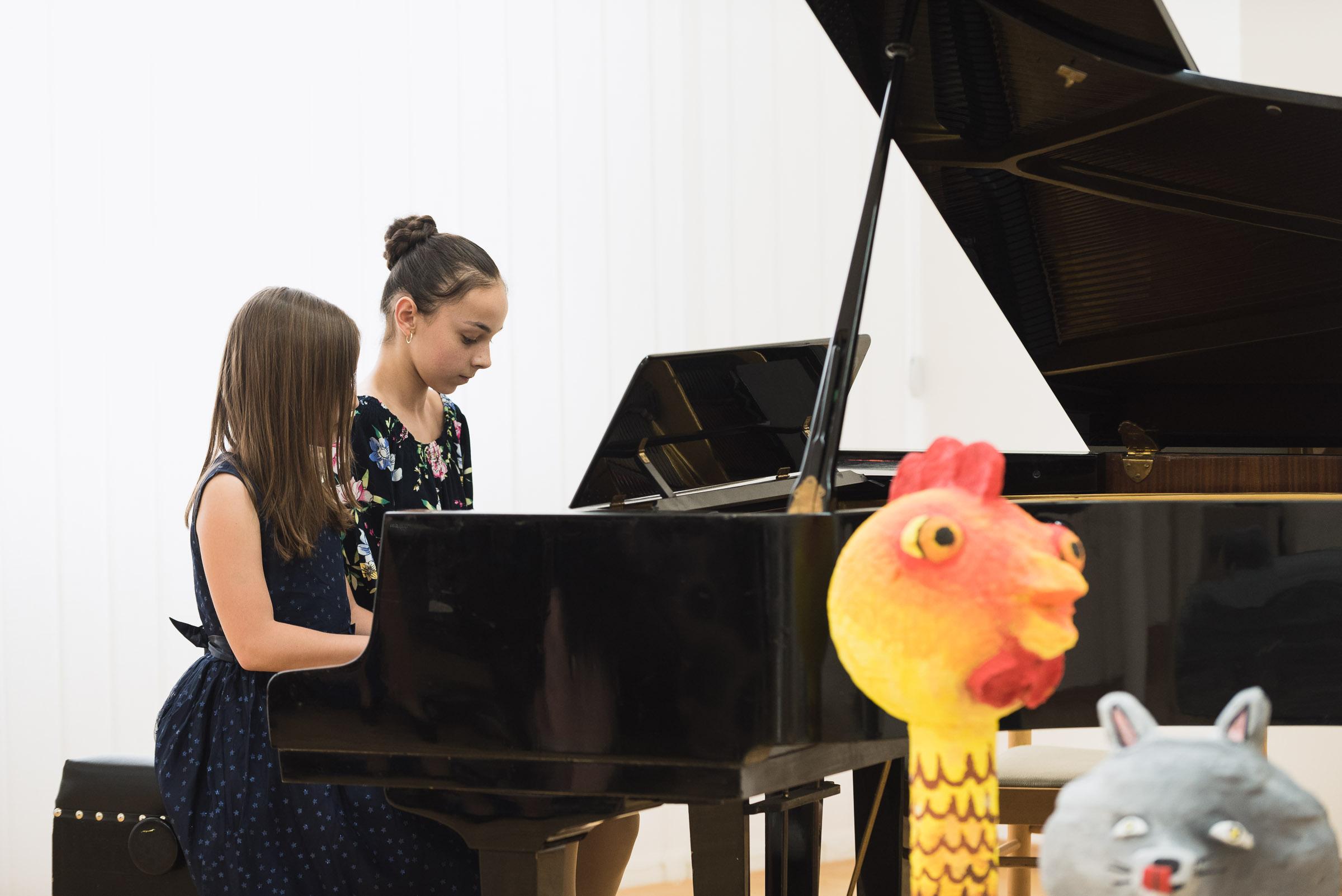 Klavírny koncert 2018, ZUŠ Dubnica nad Váhom.