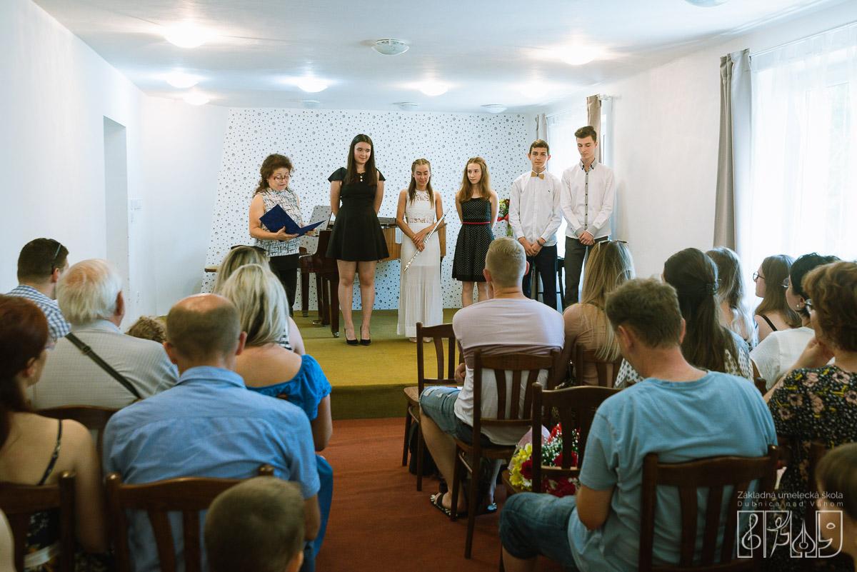Koncert absolventov hudobného odboru ZUŠ Dubnica nad Váhom 2019