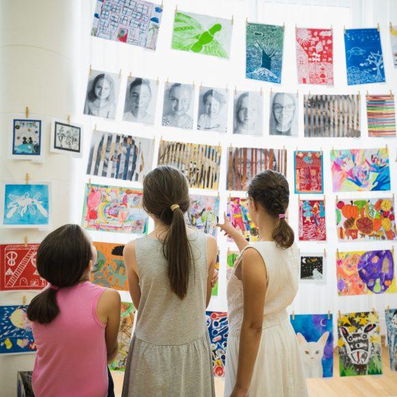 Vernisáž Detskej výtvarnej Dubnice 2018