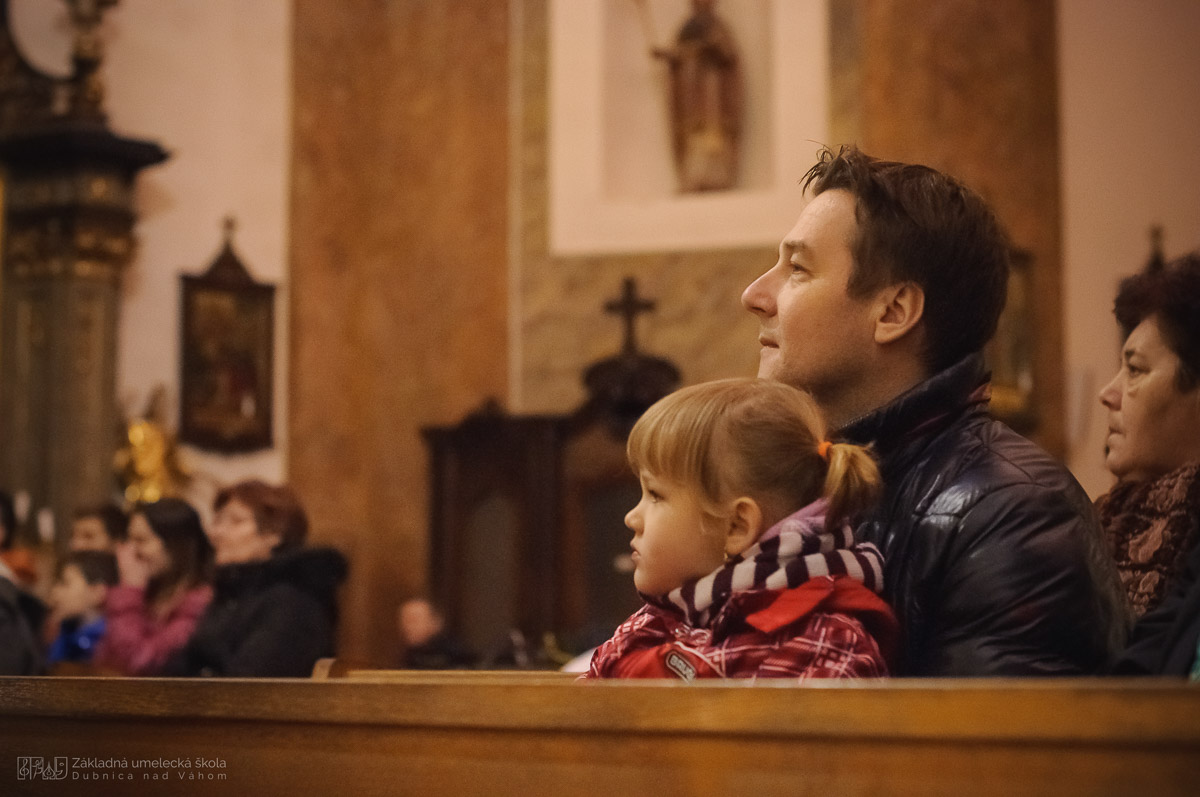 ZUŠ DCA_Koncert v kostole_máj 2017
