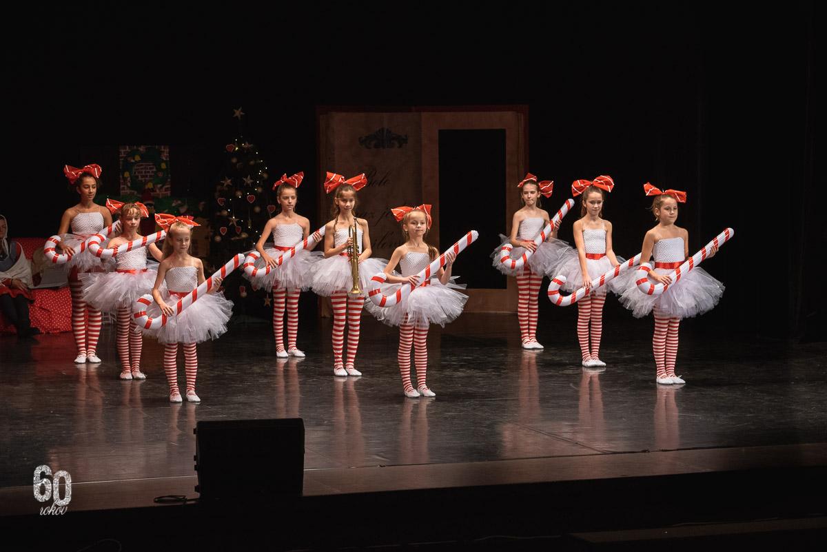 Vianočný koncert Základnej umeleckej školy Dubnica nad Váhom s názvom Rozprávkové Vianoce, Dansation Dance Company