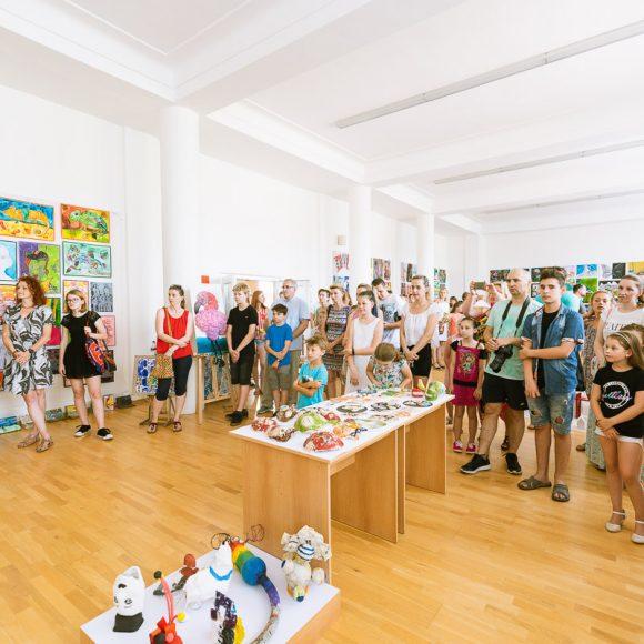 Vernisáž výstavy výtvarníkov 2019