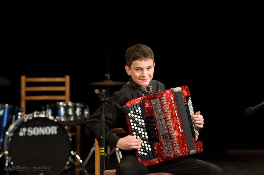 Prvý na medzinárodnom akordeónovom festivale