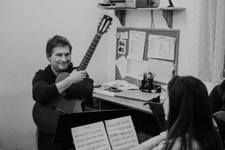 Koncert súborov: Gitarový orchester Bandolína