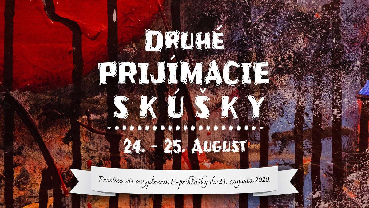 Druhé prijímacie skúšky ZUŠ Dubnica nad Váhom, tanečný, výtvarný, diadelný, výtvarný