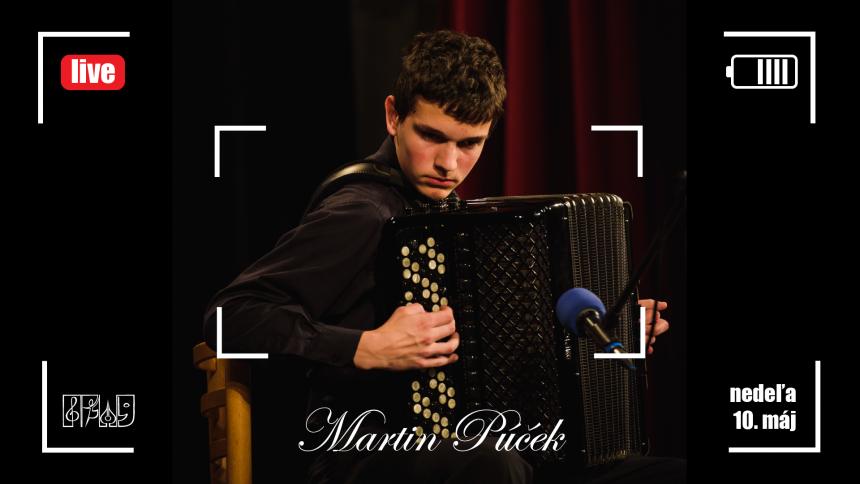 Live koncert ZUŠ Dubnica nad Váhom, 10. máj 2020, Martin Púček
