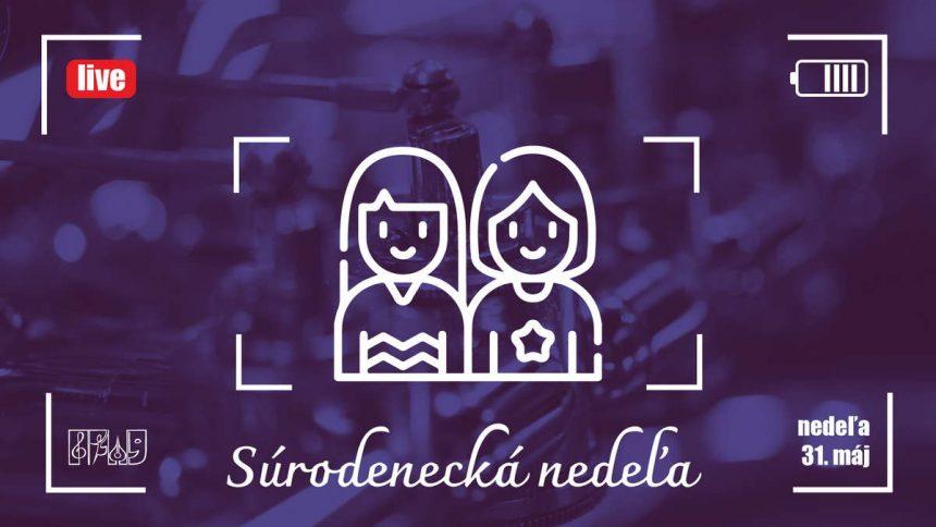 Live koncert ZUŠ Dubnica nad Váhom, každú nedeľu o 16:30, súrodenecká nedeľa