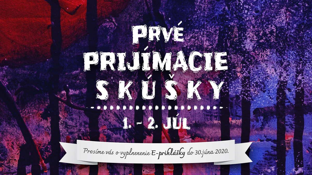 Prvé príjímacie skúšky do ZUŠ Dubnica nad Váhom, prvý termín, hudobný, tanečný, výtvarný, literárno-dramatický odbor