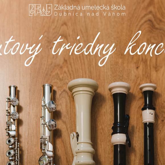 Flautový triedny koncert