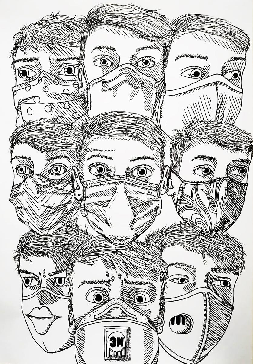 Víťazná kresba, Adam Beseda, ZUŠ Dubnica nad Váhom