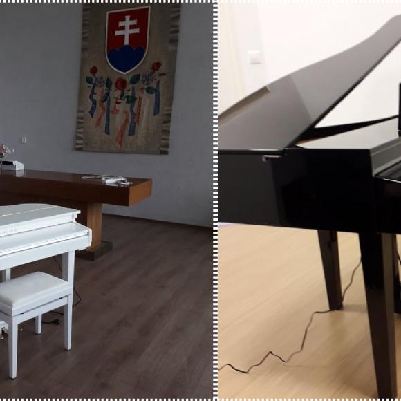 ZUŠ Dubnica nad Váhom, nové klavírne krídla